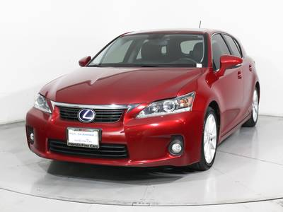 Used LEXUS CT-200H 2013 MIAMI