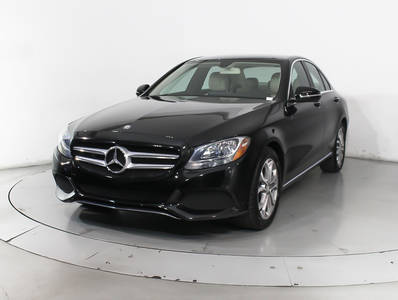 Used MERCEDES-BENZ C-CLASS 2016 HOLLYWOOD C300