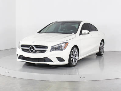 Used MERCEDES-BENZ CLA-CLASS 2016 WEST PALM CLA250