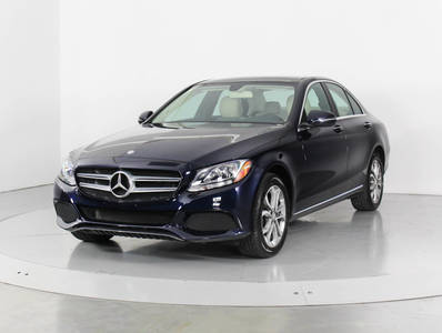 Used MERCEDES-BENZ C-CLASS 2016 WEST PALM C300 4MATIC