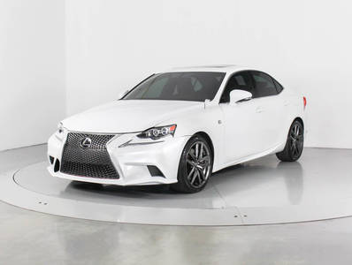 Used LEXUS IS-350 2015 WEST PALM F Sport