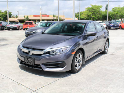 Used HONDA CIVIC 2018 WEST PALM LX