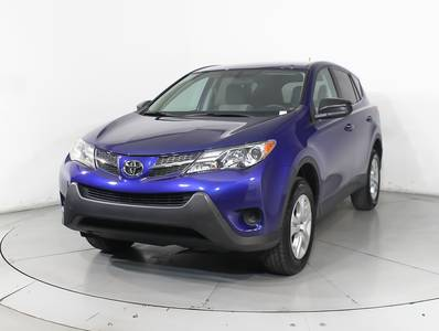 Used TOYOTA RAV4 2014 HOLLYWOOD LE