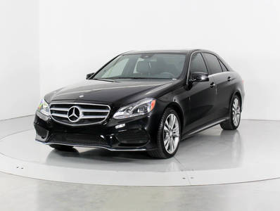 Used MERCEDES-BENZ E-CLASS 2016 WEST PALM E350 4MATIC