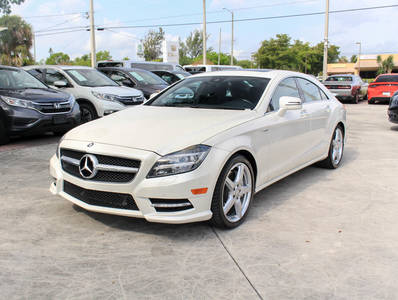 Used MERCEDES-BENZ CLS-CLASS 2013 WEST PALM CLS550