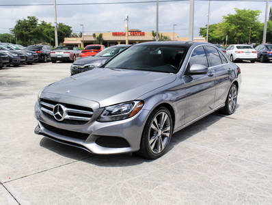 Used MERCEDES-BENZ C-CLASS 2016 WEST PALM C300