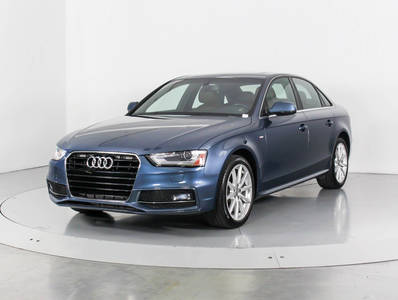 Used AUDI A4 2016 WEST PALM PREMIUM