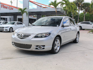 Used MAZDA MAZDA3 2005 WEST PALM S
