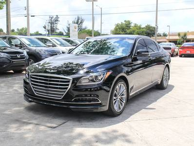 Used HYUNDAI GENESIS 2016 WEST PALM 3.8