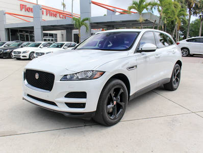 Used JAGUAR F-PACE 2017 WEST PALM 35t Premium