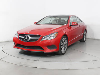 Used MERCEDES-BENZ E-CLASS 2016 WEST PALM E400