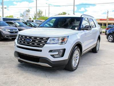 Used FORD EXPLORER 2017 WEST PALM XLT