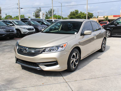 Used HONDA ACCORD 2016 WEST PALM LX