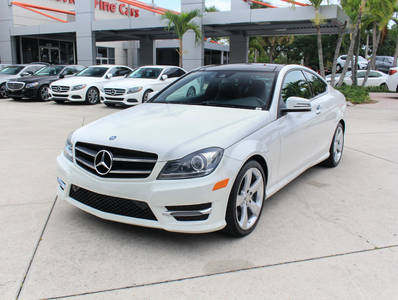Used MERCEDES-BENZ C-CLASS 2015 WEST PALM C350