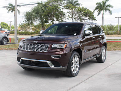 Used JEEP GRAND-CHEROKEE 2014 MARGATE Summit V8 4x4 Tech