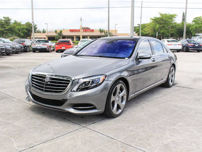 Used MERCEDES-BENZ S-CLASS 2015 WEST PALM S550