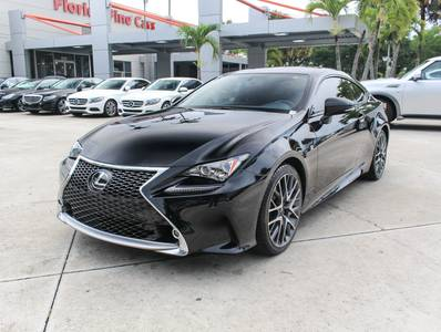 Used LEXUS RC-200T 2016 WEST PALM F Sport