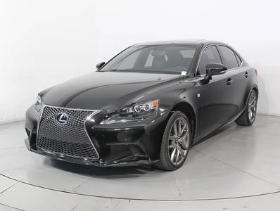 Used LEXUS IS 2016 HOLLYWOOD 200T F SPORT