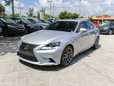 Used LEXUS IS-250 2015 WEST PALM F Sport