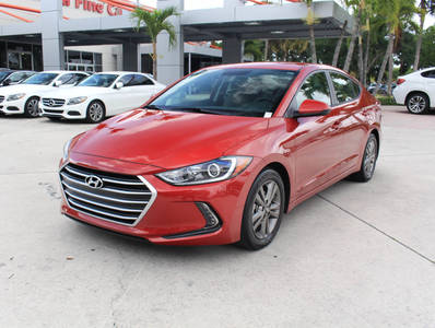 Used HYUNDAI ELANTRA 2017 WEST PALM SE TECHNOLOGY PKG