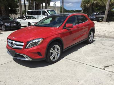 Used MERCEDES-BENZ GLA-CLASS 2015 WEST PALM GLA250