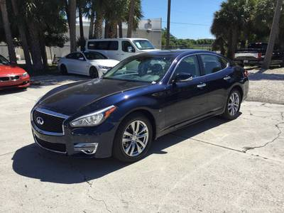 Used INFINITI Q70 2018 WEST PALM 3.7 Luxe