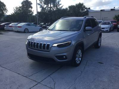 Used JEEP CHEROKEE 2019 WEST PALM LATITUDE