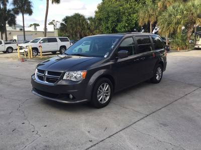 Used DODGE GRAND-CARAVAN 2018 WEST PALM SXT