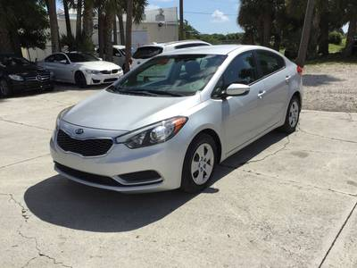 Used KIA FORTE 2016 WEST PALM LX