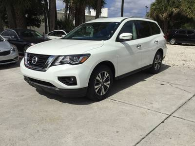 Used NISSAN PATHFINDER 2019 WEST PALM Sv