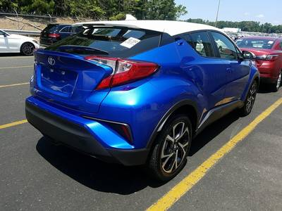 Used TOYOTA C-HR 2018 WEST PALM Xle
