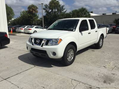 Used NISSAN FRONTIER 2019 WEST PALM Sv Crew Cab