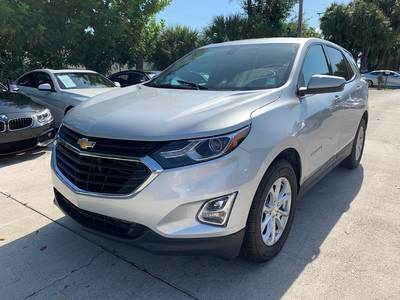 Used CHEVROLET EQUINOX 2019 WEST PALM LT (1LT)