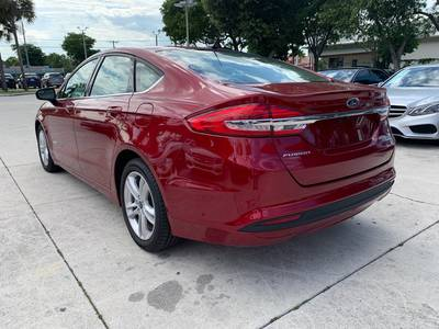 Used FORD FUSION 2018 WEST PALM SE HYBRID