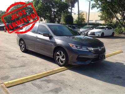 Used HONDA ACCORD 2016 MARGATE LX