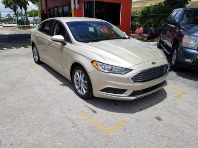 Used FORD FUSION 2017 MIAMI SE