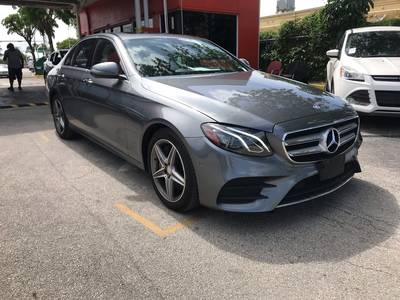 Used MERCEDES-BENZ E-CLASS 2017 HOLLYWOOD E300 4MATIC