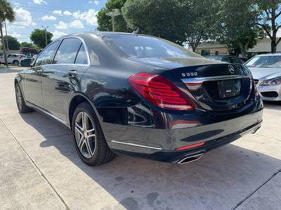 Used MERCEDES-BENZ S-CLASS 2016 WEST PALM S550 4MATIC