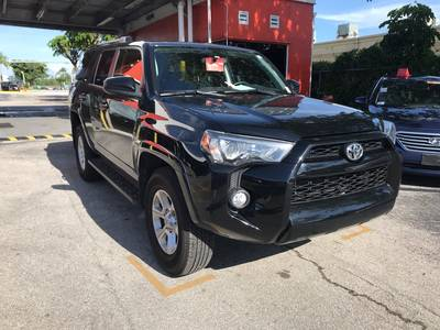 Used TOYOTA 4RUNNER 2019 MIAMI Sr5 Nav 4x4 3rd Row