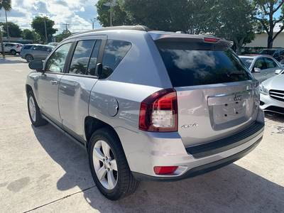 Used JEEP COMPASS 2016 WEST PALM Latitude 4wd