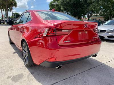 Used LEXUS IS-200T 2016 WEST PALM F Sport