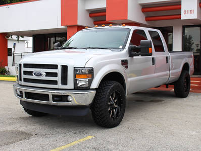 Used FORD F-350-Super-Duty 2008 MIAMI FX4 CREW CAB DIESEL