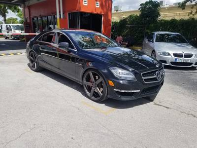 Used MERCEDES-BENZ CLS-CLASS 2012 HOLLYWOOD CLS63 AMG