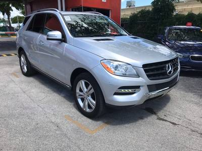 Used Mercedes-Benz M-CLASS 2014 MIAMI ML 350
