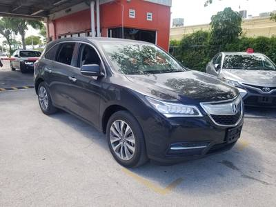 Used ACURA MDX 2016 MIAMI TECH