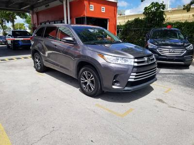 Used TOYOTA HIGHLANDER 2018 MIAMI LE