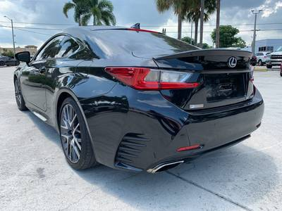 Used LEXUS RC 2016 WEST PALM 200T F SPORT