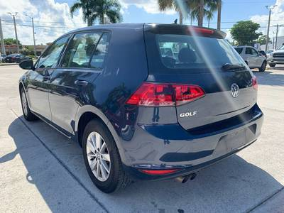 Used Volkswagen Golf 2016 WEST PALM TSI S
