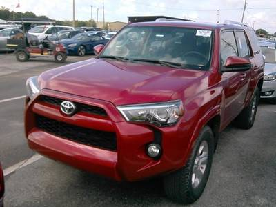 Used TOYOTA 4RUNNER 2017 WEST-PALM SR5