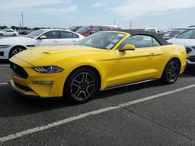 Used FORD Mustang-Premium 2018 WEST PALM ECOBOOST